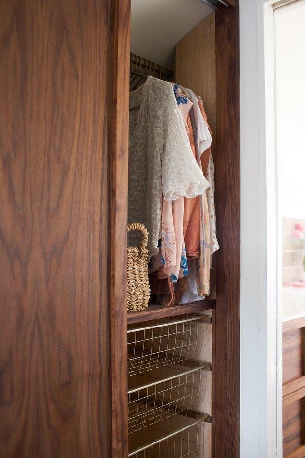 Airstream closet