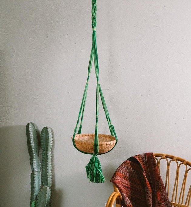 yarn plant hanger