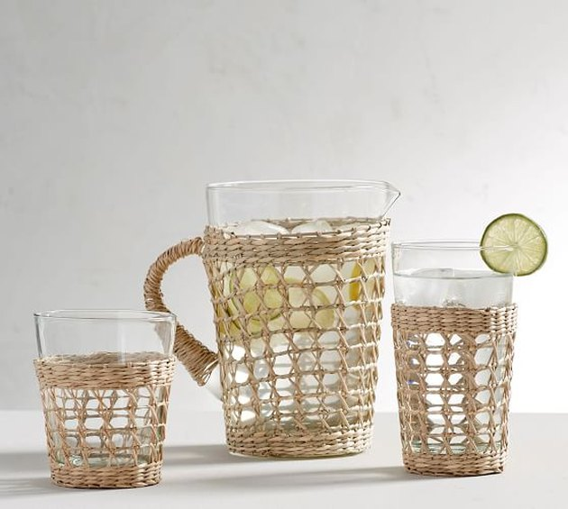 Pottery Barn Cane Drinkware Collection, $7-$50