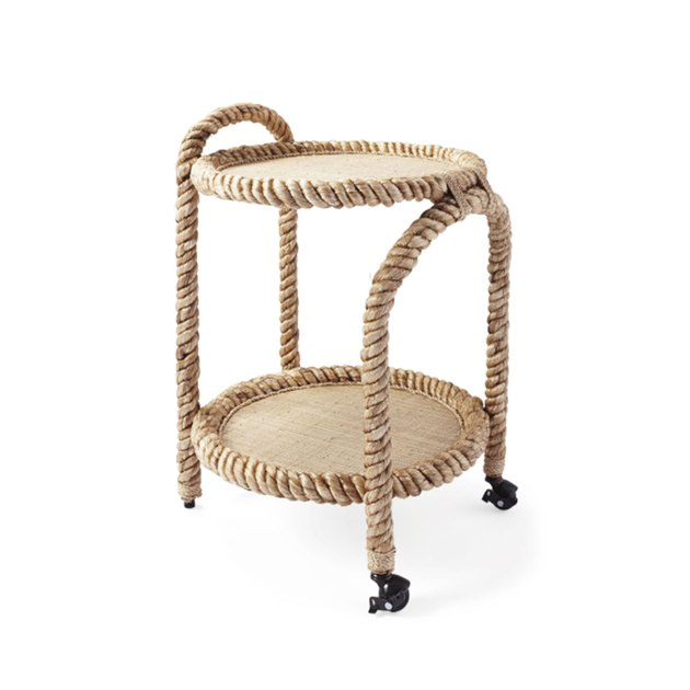 Serena and Lily bar cart