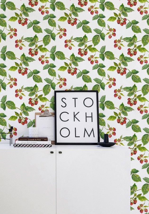raspberry wallpaper