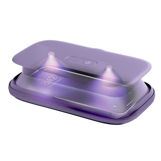 collapsible UV smartphone sanitizer
