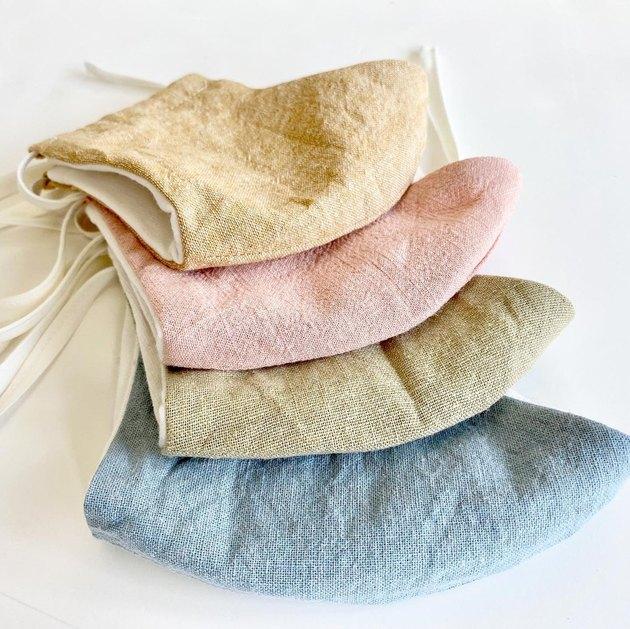 linen masks