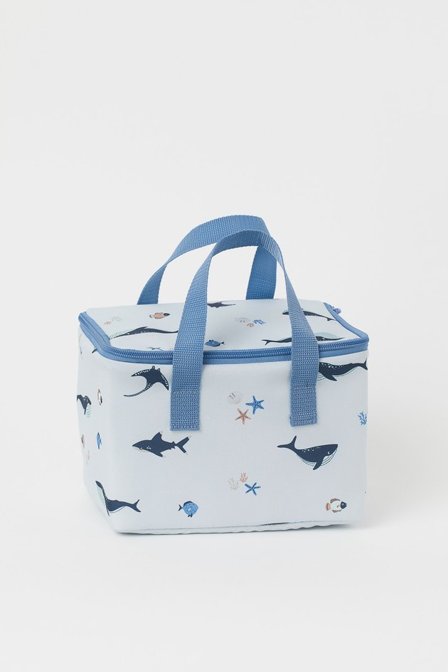 patterned kids cooler bag