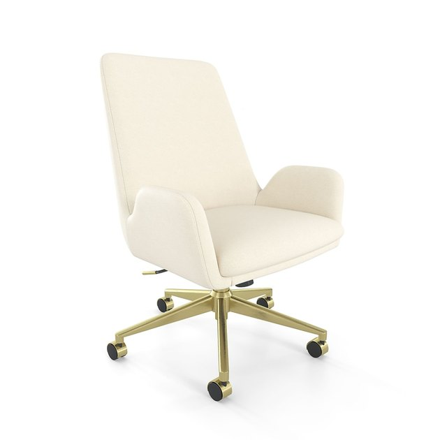 MidMod Fabric Manager Chair