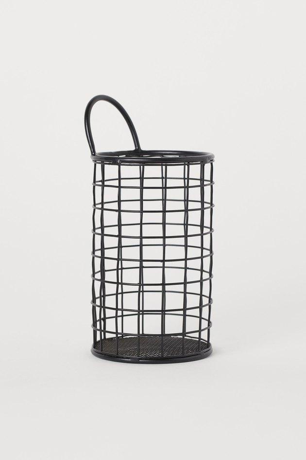 metal cutlery basket