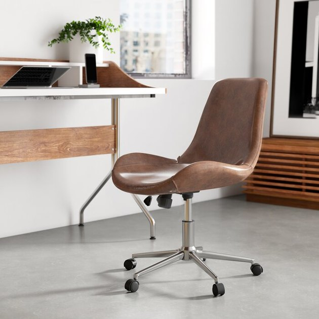 allmodern saddle task chair