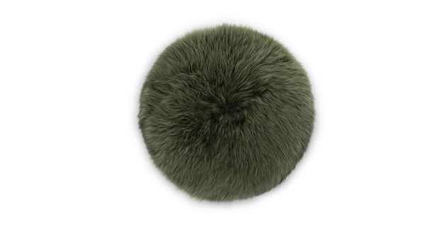 article sheepskin pillow