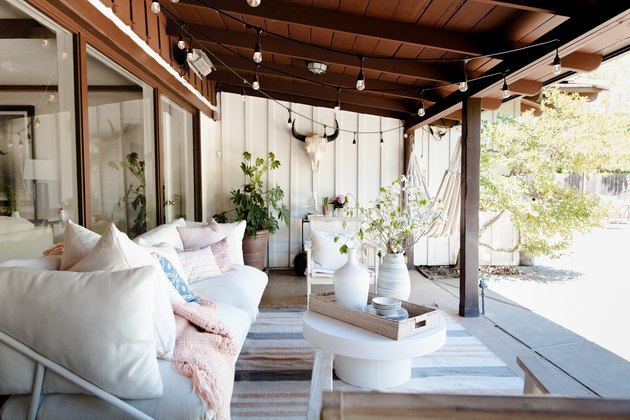 California boho patio