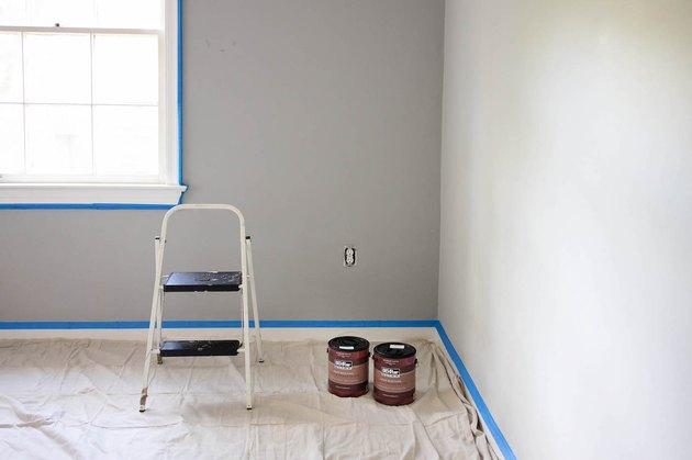 peinture au sol