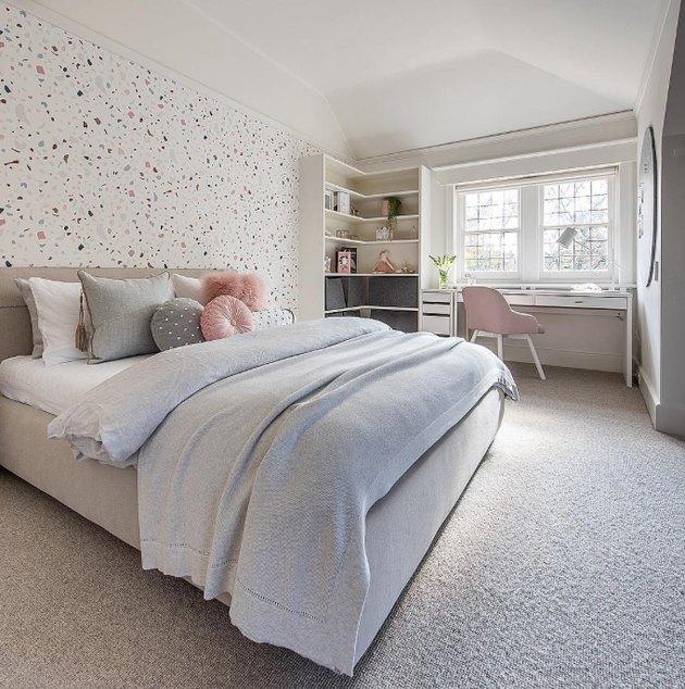 Pomysł na tapetę sypialni młodzieńczego lastryka