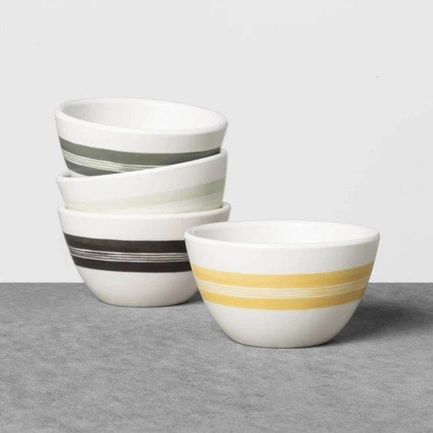 melamine mini bowls