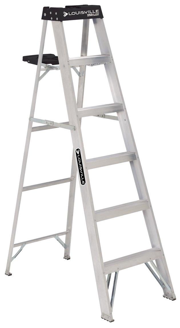 Louisville Ladder 6' Alum Step Ladder
