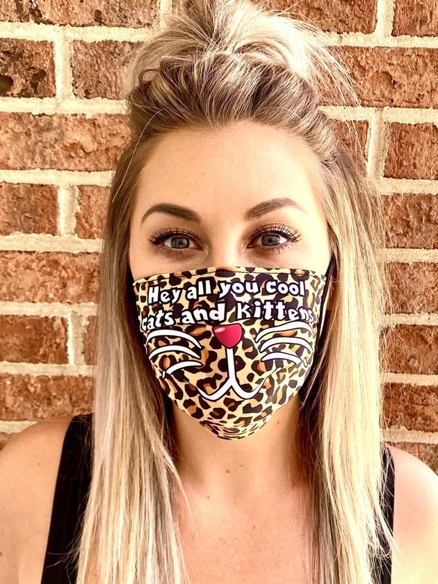 hey all yuo cool cats and kittens face mask