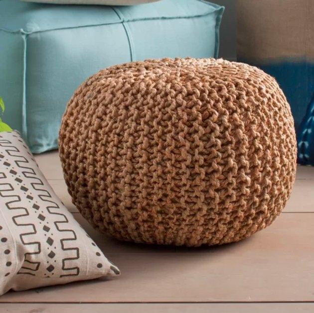 wayfair sphere pouf