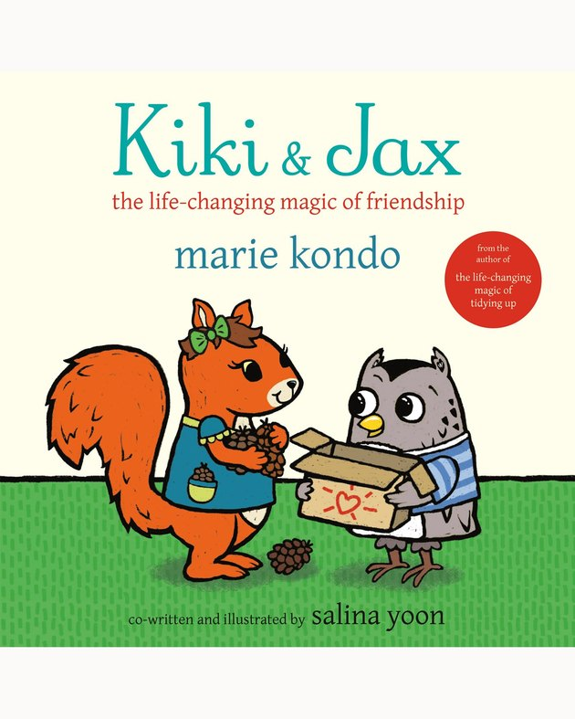 illustrated children's book cover with the title Kiki & Jax