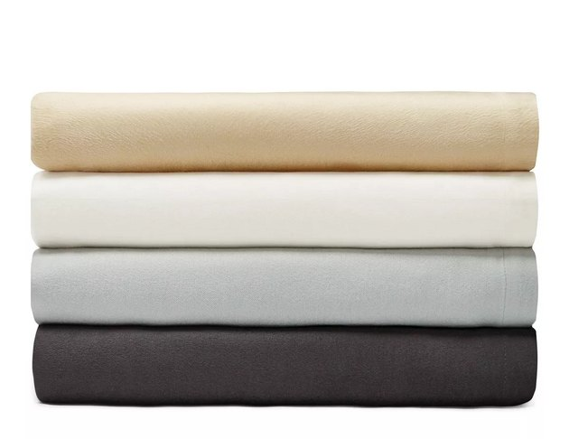 Stack of modal blankets in various colors