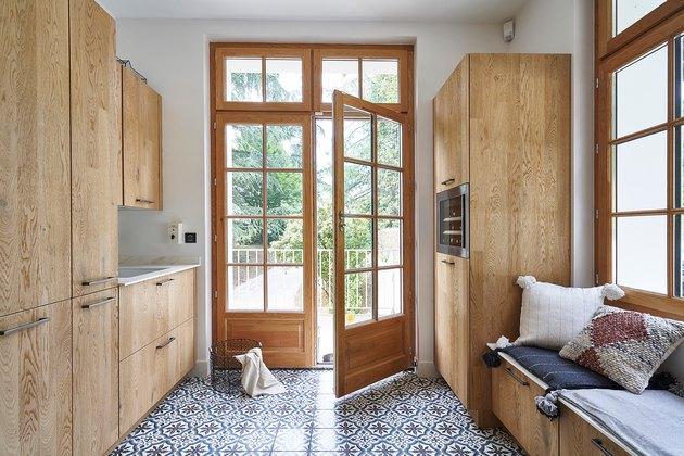 tiled pantry