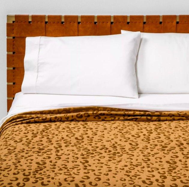 Opalhouse Leopard Spot Matelasse Coverlet, $79.99
