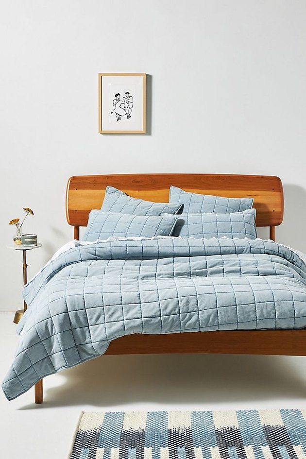 Anthropologie Washed French Terry Quilt (Queen), $248