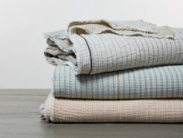 Coyuchi Topanga Organic Matelasse Blanket, $228