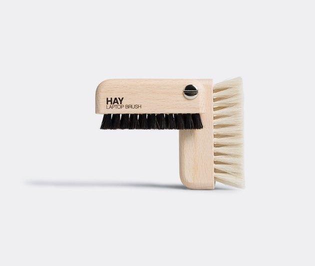hay laptop brush