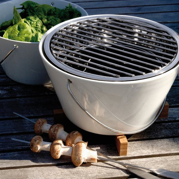 outdoor table grill