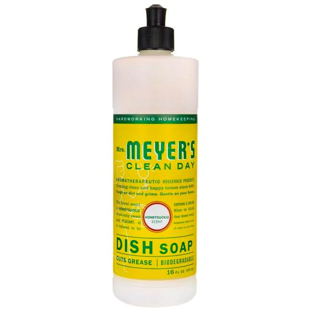 Mrs. Meyer's Clean Day Liquid Dish Soap in Honeysuckle