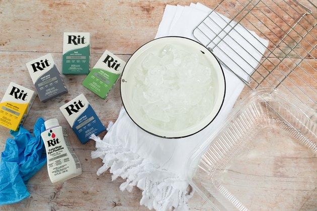 Serviettes de plage Ice Dye DIY