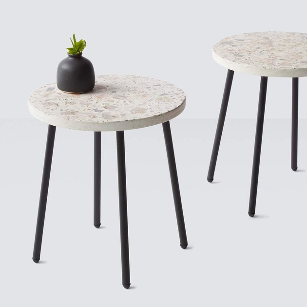 The Citizenry Terrazzo Side Table, $295