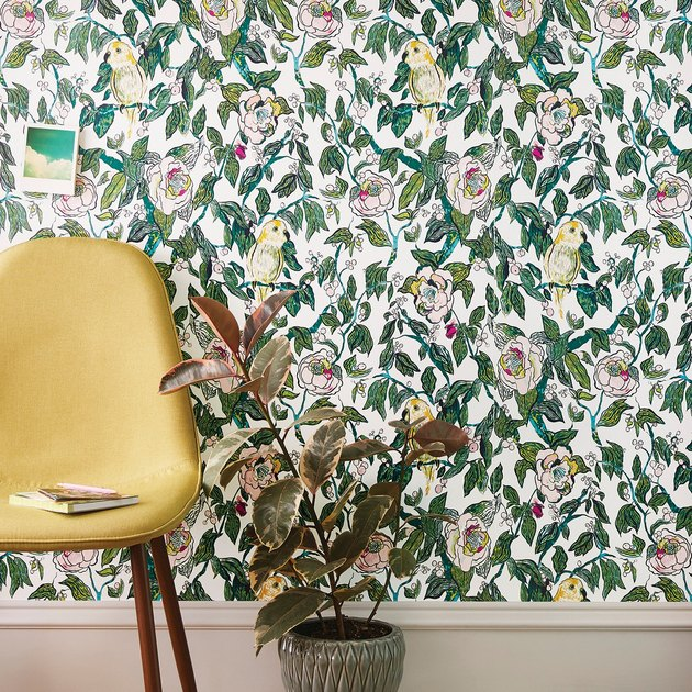 Peel and stick wallpaper, Target