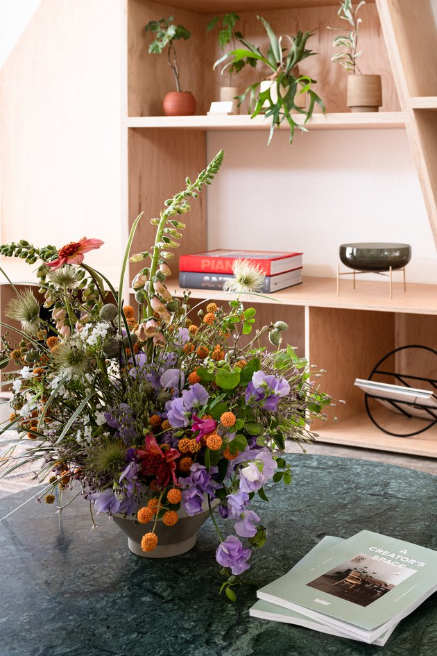 Floral Arrangement with Felisa Funes from of the flowers
