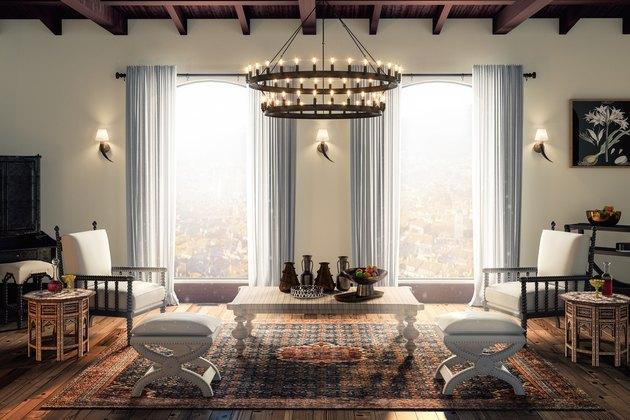 Mediterranean-style sitting room