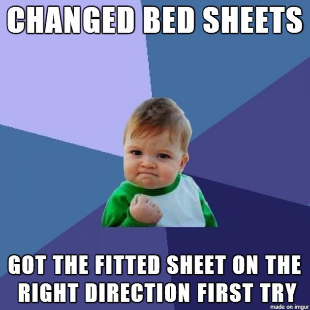 fitted sheet meme