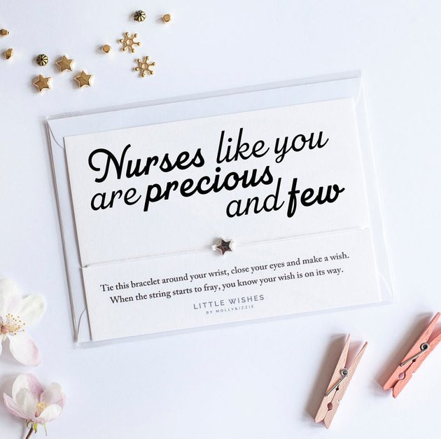 nurse wish star bracelet