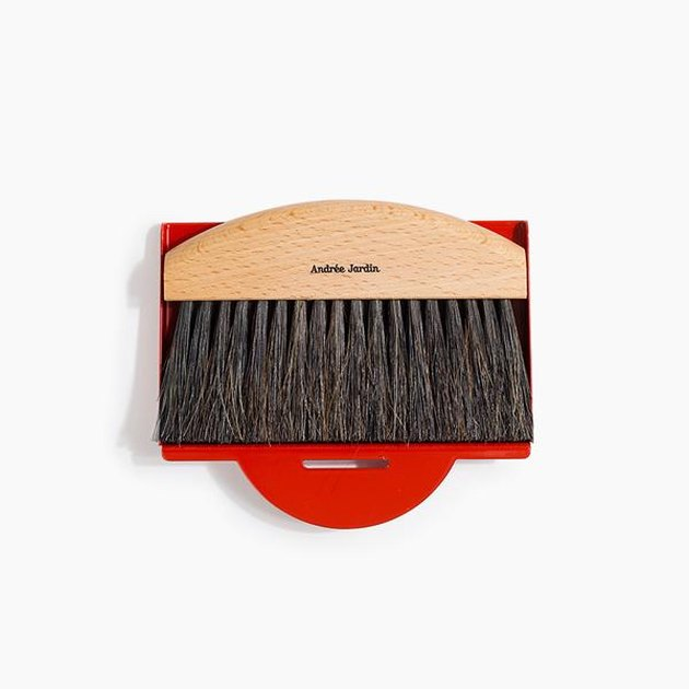 table brush and dustpan