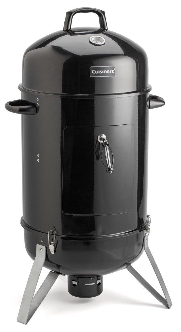 """Cuisinart Vertical 18"""" Charcoal Smoker,"""