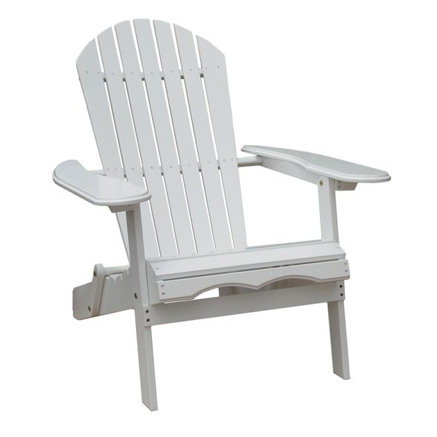 Simple Acacia Adirondack Chair