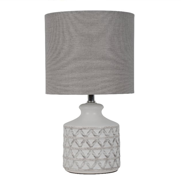 better homes and gardens weave table lamp