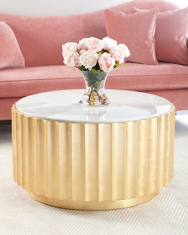 Horchow Cosmo Marble Coffee Table, $2,024.25