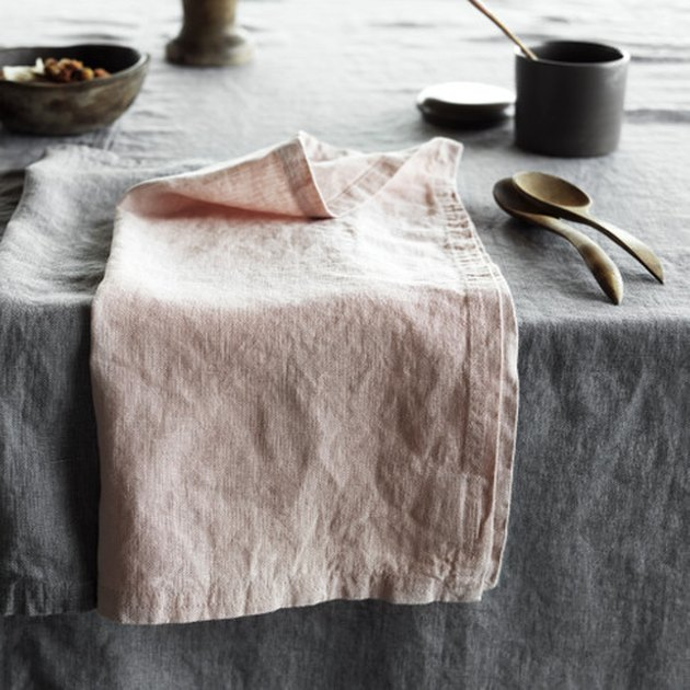 Linum Design West Napkin, blush room decor
