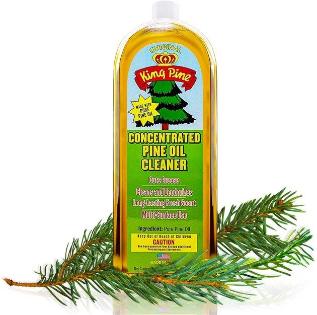Nettoyant à l'huile de pin