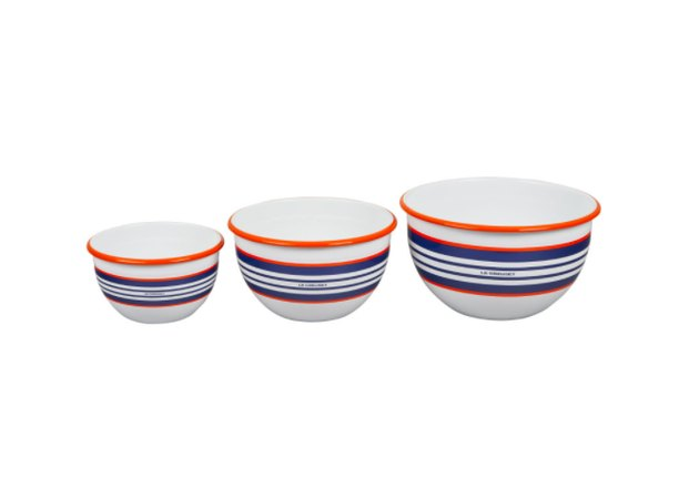 everyday enamelware serving bowl