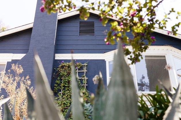 Strategic landscaping for natural home cooling