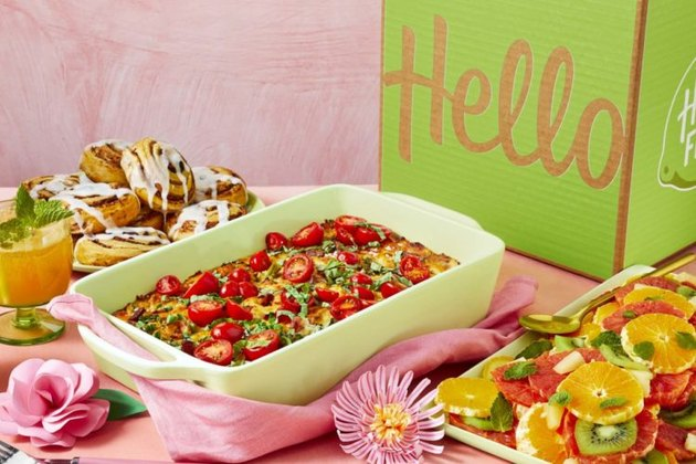 hellofresh brunch box