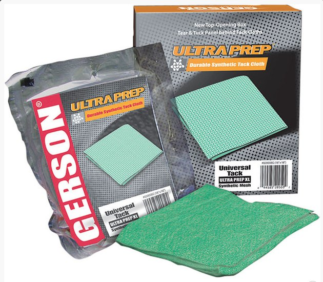 UltraPrep tack cloth, manufactured by Gerson