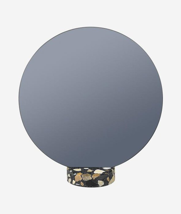 Lucie Kaas Terrazzo Black Mirror, $159.95