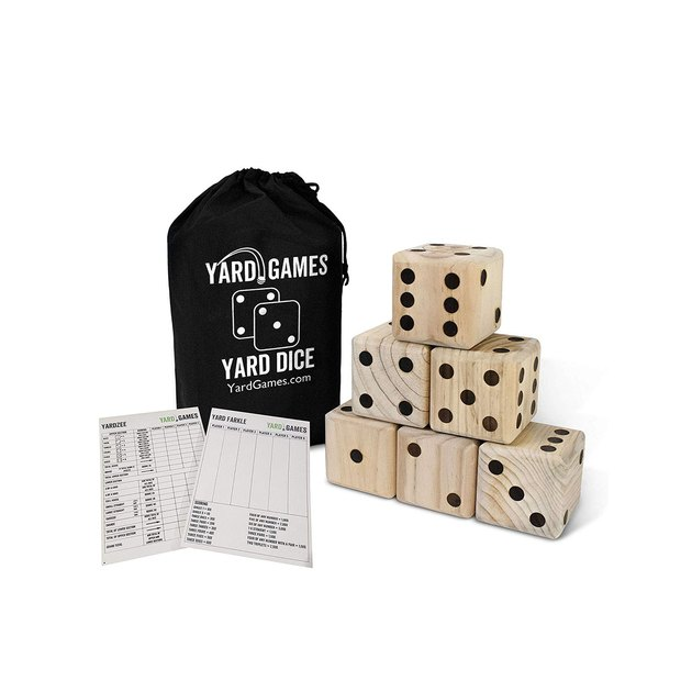 yard games giant wooden yard dice