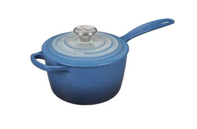 ombre blue saucepan