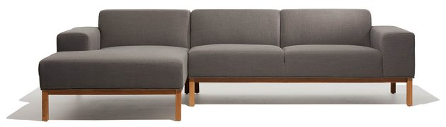 Stratos Sofa Left Chaise, $2,000